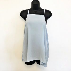Charlotte Russe high neck tank top size large